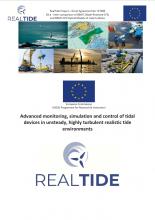 RealTide Deliverables: D3.4 Paper describing the inter-comparison of BEMT, Blade resolved CFD and BEMT-CFD models of the D1X turbine